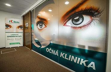 očná klinika Bratislava Aupark 9