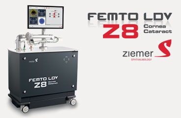 Femtosecond laser ZIEMER FEMTO LDV Z8