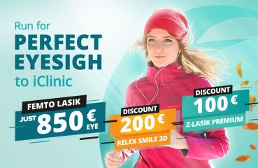 Discount on RELEX SMILE 3D & Z-LASIK PREMIUM surgery method