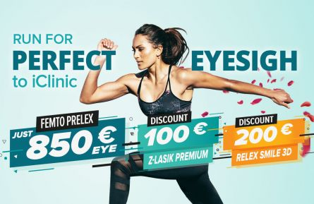 Special discount on RELEX SMILE 3D & Z-LASIK PREMIUM surgery method