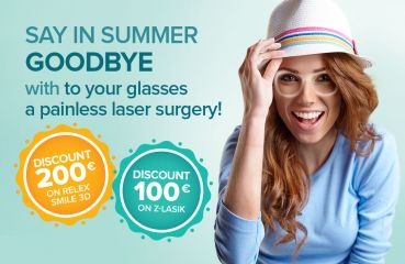 Summer campaign on Relex Smile 3D and Z‑Lasik