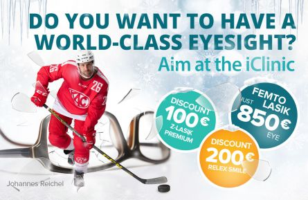 Winter campaign on Relex Smile 3D and Z-Lasik Premium