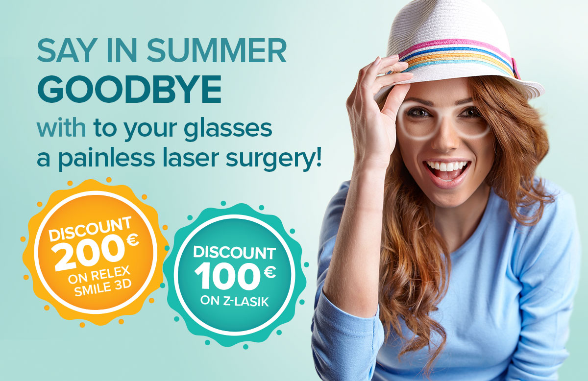 Summer discount on Relex Smile 3D and Z-Lasik Premium